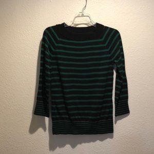 Talbots three-quarter length sleeve sweater